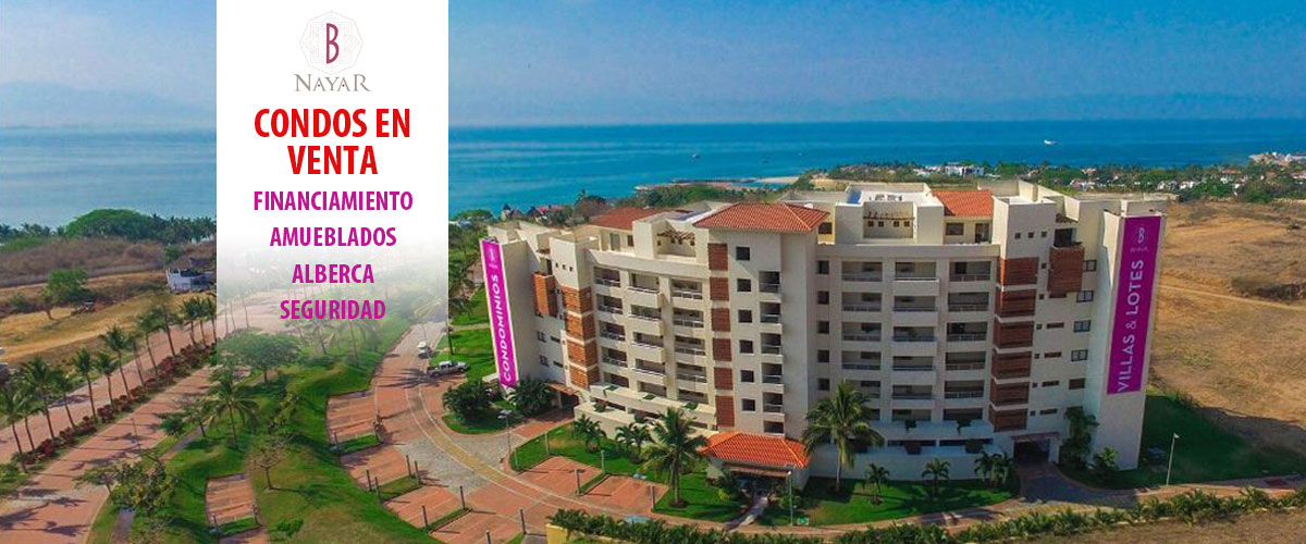 Condominios - B Nayar - Lotes, Condominios, Villas - Club de Playa